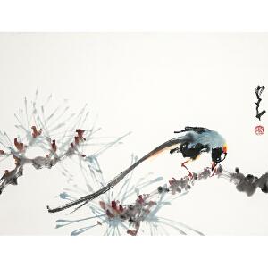 W1384 赵少昂《花鸟》(附出版《赵少昂*小品集》P99页)