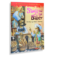 送音频/牛津原版英文绘本/Sanji and the Baker 山治和贝克