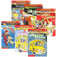 The Magic School Bus Chapter Book 英文原版 神奇校车阅读版6册套装 全英文版 章节书