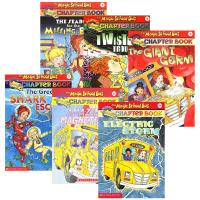 The Magic School Bus Chapter Book 英文原版 神奇校车阅读版6册套装 全英文版 章节书系