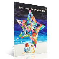 顺丰发货 Draw Me a Star 给我画颗星星 Eric Carle 艾瑞・卡尔经典作品 廖彩杏推荐英文原版绘本 大开本