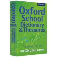 牛津小学高年级学生英语词典 同义词辞典 英文原版 Oxford School Dictionary Thesaurus