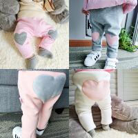 女童打底裤加绒加厚外穿儿童装女宝宝秋冬装小童保暖棉裤子