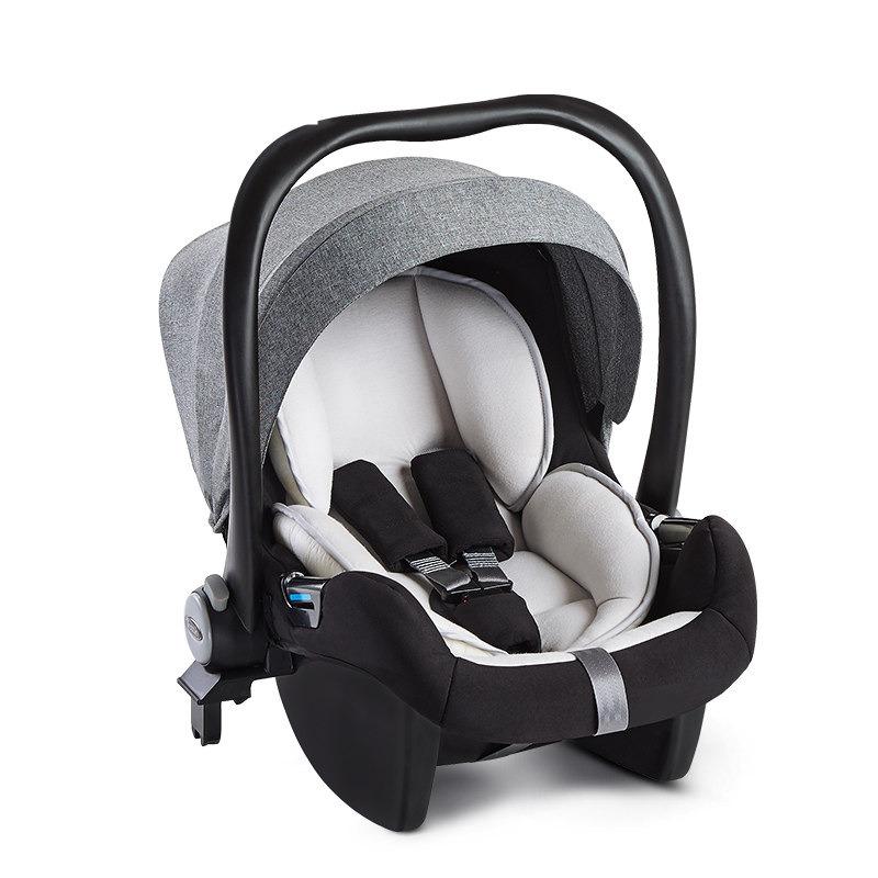 【支持礼品卡】婴儿提篮 便携式儿童安全座椅汽车用 宝宝新生儿车载摇篮z0c全棉内衬垫 送护腰垫、凉席  可搭配推车
