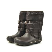 【领券下单立减120元】Crocs卡骆驰女靴冬季保暖舒适户外中筒雪地靴|12933 女士卡骆班冬日靴2.5代