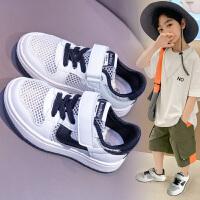 童鞋儿童运动鞋男童夏季小白鞋子男孩中大童透气