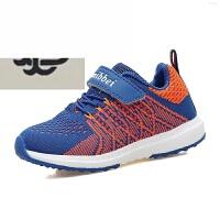 春夏季新款童鞋男童跑步开儿童网运动飞织网面透气小童防滑潮轻便儿童跑