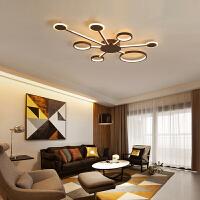 led客厅吸顶灯简约现代大气家用创意北欧卧室餐厅灯网红房间灯具