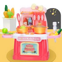 儿童过家家厨房玩具套装宝宝女孩男孩子女童小孩做饭煮饭仿真厨具
