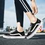 【领券立减100】Q-AND/奇安达帆布鞋女2018夏季新款经典舒适耐磨校园百搭时尚板鞋