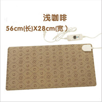 小金猴 暖桌垫 电暖书写垫 暖手宝 发热垫暖手暖脚垫28*54CM(浅咖啡)