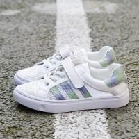 童鞋女童网眼鞋男童单网鞋镂空运动鞋透气网面小白鞋