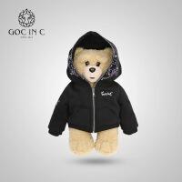 GOC IN C摇滚熊热水袋小熊智能安全防爆充电暖手宝