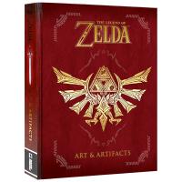现货正版 塞尔达传说 艺术与物品道具设定 英文原版 The Legend of Zelda Art and Artifa