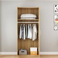 衣柜推拉门简约现代经济型组装实木板式卧室租房衣橱简易衣柜 4门190*160*50 白色 4门 组装