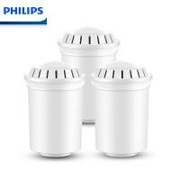 飞利浦(PHILIPS) WP3904 复合滤芯 除氯除垢 净水壶芯 滤水壶芯(两支装)
