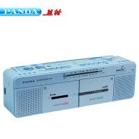 熊猫 F-536双卡收录机磁带录音USB复读收音大功率教学机赠16g优盘!便携老人