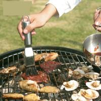 烧烤世家不锈钢烧烤油刷 烘焙用具工具套装调味瓶酱料刷子s1p