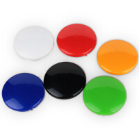 得力7822 彩色白板磁钉/磁珠/吸铁石 直径40mm