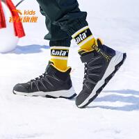安踏童鞋男童棉鞋2020春季新款儿童中大童保暖防滑鞋子男31946902