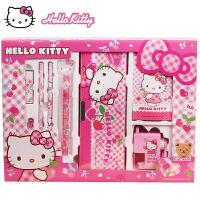 HOLLE KITTY文具套装 凯蒂猫儿童文具礼盒 KT小学生文具大礼包