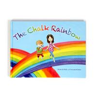 【盖世童书】英文原版绘本The Chalk Rainbow 粉笔彩虹 儿童宝宝情感交流 家庭的陪伴 支持小怪兽/小达人