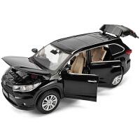 儿童合金玩具车男孩普拉多合金模型小汽车仿真汽车模型