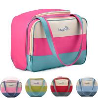 多功能超大容量妈咪包母婴帆布手提包婴儿包待产袋子外出包