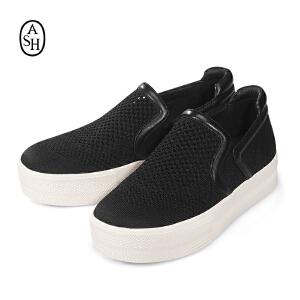 Ash/艾熙 Jeday Slip-On S16112911_006 女款乐福鞋一脚蹬 韩国直邮 进口商品