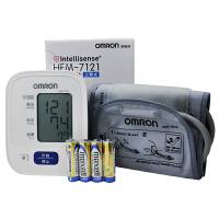 欧姆龙电子血压计 家用上臂式Hem-7121全自动测量血压仪