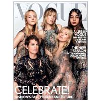 时尚杂志订阅 VOGUE(UK) 英国英文原版 英文杂志期刊 女性时尚杂志 年订12期