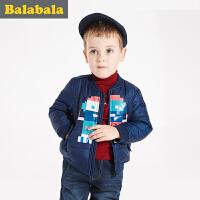 巴拉巴拉童装男童棉服小童宝宝上衣2016冬装新款儿童棉衣棉袄