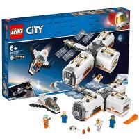 【����自�I】LEGO�犯叻e木 城市�MCity系列 60227 月球空�g站 玩具�Y物