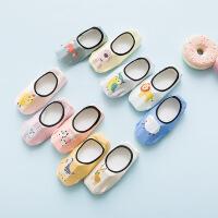 2018新款儿童隐形船袜 儿童袜浅口防滑婴儿宝宝地板袜无骨精梳棉