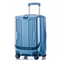 前置电脑拉杆箱超轻迷你旅行箱商务飞机行李箱20寸男女学生登机箱