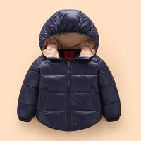 儿童羽绒服男女童装轻薄款羽绒外套宝宝冬季羽绒保暖内胆W