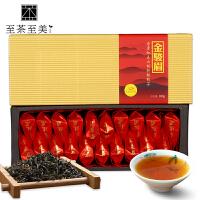 至茶至美 金骏眉红茶 桐木关小种红茶茶叶 武夷红茶 100g 武夷山茶 包邮