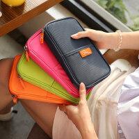旅行护照包机票护照夹多功能卡包钱包收纳袋保护套