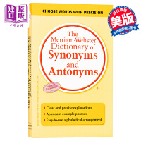 【中商原版】�f氏同�x�~反�x�~�~典 英文原版The Merriam-Webster Dictionary of Synon