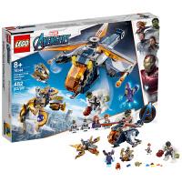 【当当自营】LEGO乐高 漫威超级英雄系列 复仇者联盟直升机-空降浩克 76144 小颗粒积木