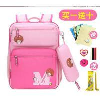 女孩双肩背包6-12周岁公主包 新款儿童1-3-4-6年级书包 韩版小学生女生儿童双肩背包