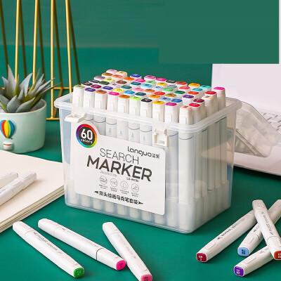 双头马克笔套装 简约小清新彩色油性笔 学生大容量美术绘画笔