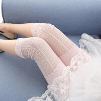 女童打底裤夏季薄款短裤夏装儿童夏天外穿薄蕾丝裤子宝宝七分裤