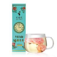 花养花 午后三点玫瑰花茶平阴无硫玫瑰花冠茶花茶花草茶茶叶盒装15克