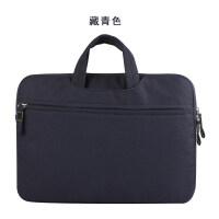 公文戴尔华硕13.3惠普女14袋子手提时尚韩版可爱15.6寸内胆电脑包