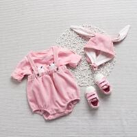 婴儿童套装衣服0岁6个月休闲春款冬季新生儿宝宝两件外出服