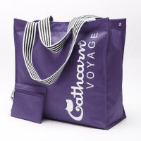 防水短途旅行包男女旅行袋单肩包旅游包可折叠行李包大容量购物袋 中