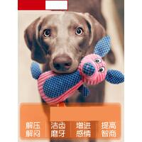 【支持礼品卡】狗狗玩具耐咬大型犬宠物用品金毛萨摩拉布拉多泰迪幼犬发声狗玩具t4u
