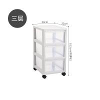 收纳柜子储物柜塑料抽屉式收纳箱透明家用收纳盒衣柜玩具整理箱子 1个