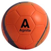 低弹球 足球PU低弹5人制足球橙色足球布胆4号足球